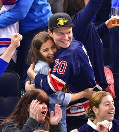 Ansel Elgort is such a sweet boyfriend! Click through to see his PDA-filled date night.
