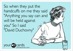 Finally! Someone made one for David Duchovny :D