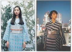 """It's no wonder that designers have started to incorporate """"yukata"""" (traditional summer clothing) as part of their fashion lines."""