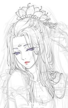 pin by trang on anime, sketches and draw Anime Drawings Sketches, Anime Sketch, Manga Drawing, Manga Art, Art Drawings, Drawing Hair, Pencil Drawings, Art Reference Poses, Anime Art Girl