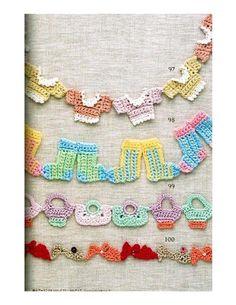 ISSUU - AO - Crochet Edging & Braid 2 by Mariangela Sorbilli