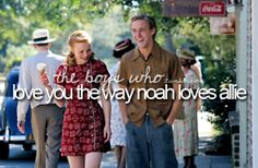 allie and noah`s love for eachother Ryan Gosling, Dont Forget To Smile, Make Me Smile, Don't Forget, Allie And Noah, Win My Heart, True Love, My Love, Justgirlythings