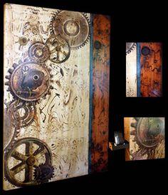 JL Studios Original Art on Wood Home