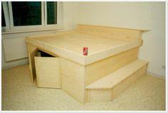 Podestbetten Sofa Bed With Storage, Diy Furniture, Sunroom, Home Decor, Bricolage, Bedroom, Sunrooms, Decoration Home, Room Decor