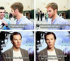 Chris and Benedict