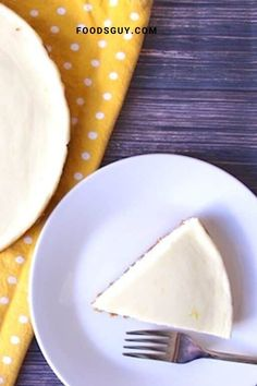 If you're looking for a light and creamy cheesecake that comes together in a pinch, then this easy lemon cheesecake recipe is for you!