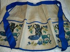 Vintage Belgian Linen Kitchen Apron Kitchenware MWT $29.99 (includes shipping)