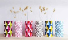 Print, fold, decorate. | 10 DIY Ways To Ring In The Spring
