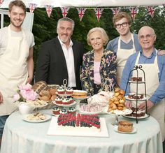The Great British Bake Off Final 2012 #GBBO #cakes #bakes #baking
