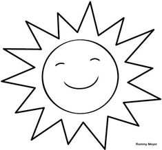 sol | Wchaverri's Blog Colouring Pages, Coloring Sheets, Coloring Books, Preschool Themes, Montessori Activities, Drawing For Kids, Painting For Kids, Crown Drawing, Crafts For Kids