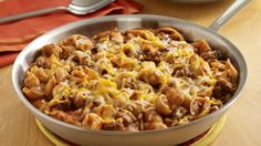 ReadySetEat - Cheeseburger Pasta Skillet - Recipes- I didn't like this one.