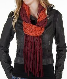 BKE Ombre Scarf. Love the fall colors.