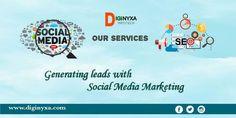 Generating leads with Social Media Marketing - Diginyxa Infotech Best Digital Marketing Company, Seo Services, Lead Generation, Social Media Marketing