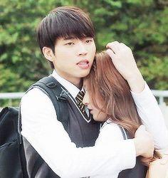 Старшая школа:  пора любить? Hi School Love On, High Shool, Kim Sejeong, Drama Fever, Nam Woo Hyun, Love K, Ulzzang Couple, News Stories, Korean Drama