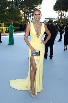 La 23e edition du gala de l'amfAR a Cannes - Heidi Klum