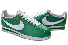 green cortez shoes