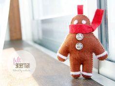 30 Super-Cute Free Christmas Ornament Patterns | Jacquelynne Steves | Bloglovin'