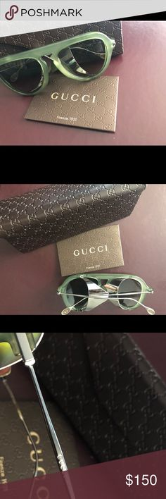 e3b45e35d5e6 100% Authentic Rare Gucci Sunglasses Case Included Really cute Gucci  sunglasses