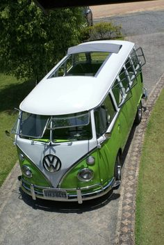 VW bus split screen