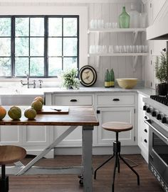 open shelving kitchen ideas | That's Pinteresting, Kitchens
