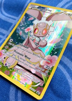 Closeup of Magearna from the Pokemon Mythical Collection!