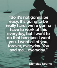quote from the longest ride movie - love quotes Nicholas Sparks Zitate, Nicholas Sparks Quotes, Romantic Love, Romantic Quotes, Wedding Quotes And Sayings, The Words, Love Quotes For Him, Quotes To Live By, I Miss You Quotes For Him Distance