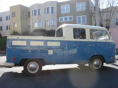 Volkswagen Bay Window Double Cab by wbaiv, via Flickr