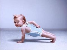 Funny- working out baby