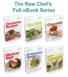 Choose your own price for these raw food recipe eBooks | The Raw Chef - Raw Food Recipes