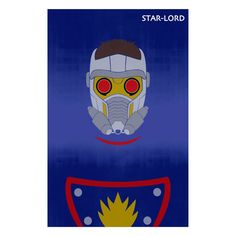 A Design Geek - Minimalist Art Poster of Star-Lord, $14.99 (http://www.adesigngeek.com/minimalist-art-poster-of-star-lord/)