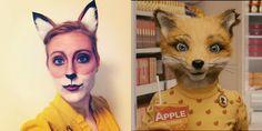 Dapper Deer: Halloween Re-Cap: Felicity Fox Fox Halloween Costume, Art Costume, Halloween Kids, Costume Ideas, Fantastic Mr Fox Costume, Fox Face Paint, Roald Dahl Costumes, World Book Day Ideas, Roald Dahl Day