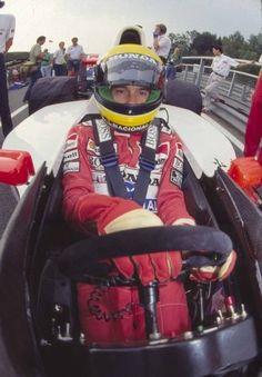 Senna in Work