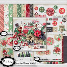 Merry Little Christmas BUNDLE :: Collections :: Memory Scraps