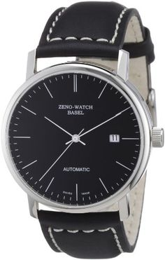 Zeno Watch Basel Men's Automatic Watch Bauhaus 3644-i1 with Leather Strap