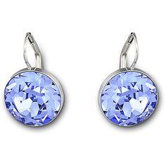 Swarovski Bela Faceted Crystal Drop Earrings (4.920 RUB) ❤ liked on Polyvore featuring jewelry, earrings, earrings jewelry, swarovski earrings, crystal stone jewelry, sparkle jewelry and swarovski jewelry