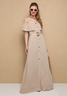 Λινό φόρεμα έξωμο Bridesmaid Dresses, Wedding Dresses, Fashion, Bridesmade Dresses, Bride Dresses, Moda, Bridal Gowns, Fashion Styles, Weeding Dresses
