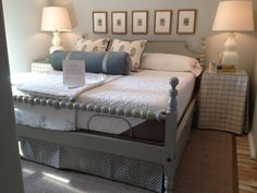 Coastal Living 2012 Ultimate Beach House bed by Reid Classics: Quality, custom handmade crafted bedroom furniture.