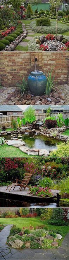 Gardenscapes And Garden Feature Ideas From Clipboards, Pinterest, and Instagram