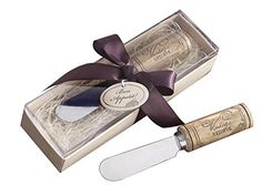 Set of 50 Vintage Reserve Wine Cork Handle Cheese Spreader / Knife Favors >>> Details can be found by clicking on the image. (Amazon affiliate link)