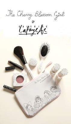 The Cherry Blossom Girl makeup collection with Galeries Lafayette