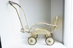 French Antique Doll Stroller