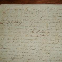 1818 Kensington, New Hampshire Payment for The Poor Letter - Original Early 19th Century Document.