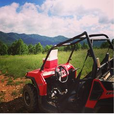 These little ATVs will go up ANY terrain...