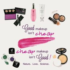 Nature based makeup is always worth the money www.youniqueproducts.com/laurabowman1