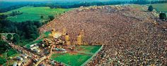 Woodstock - 1969 - The Awesome crowd that gathered then.