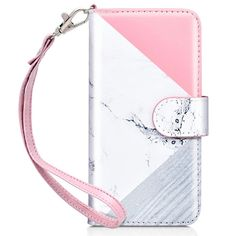 Wrist Strap Galaxy S9 Case,S9 Wallet Case,Dailylux Sparkle Cover PU Leather Folio Flip Card Holder ID Slot Phone Shockproof TPU Back Wallet Case for Women Girls for Samsung Galaxy S9 5.8,Bling Rose Gold