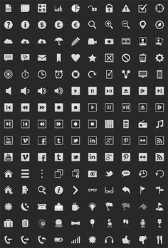 BB10 icons in Dark theme | Myers Design
