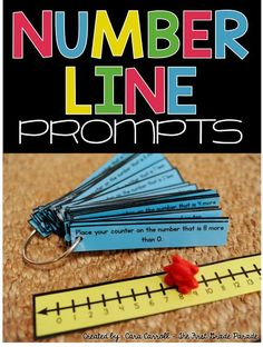 Number Sense Activities using the Number Line