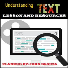 UNDERSTANDING+TEXT:+LESSON+&+RESOURCES+from+JOHN421969+on+TeachersNotebook.com+-++(14+pages)++-+This+resource+contains+everything+you+need+to+get+going+with+teaching+reading+skills+in+your+classroom.+