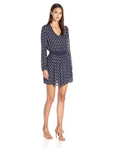 Lucky Brand Women's Printed Smocked Dress, Blue/Multi, X-... https://www.amazon.com/dp/B01ETPJ4GW/ref=cm_sw_r_pi_dp_x_AlD9xbDBYRWR6